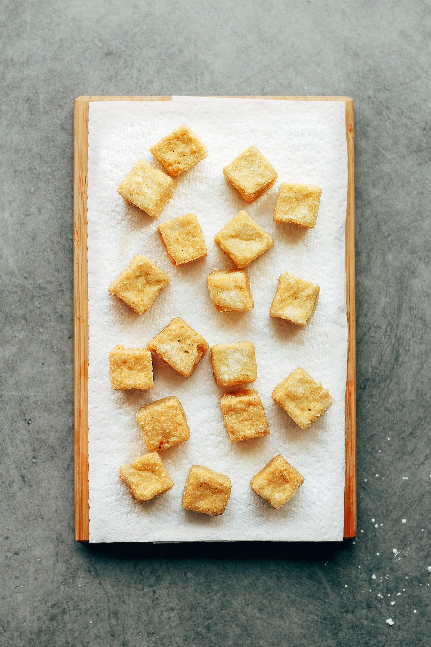 Sweet Chili Tofu Bowls