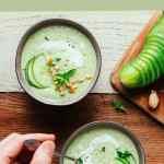 Creamy Cucumber Gazpacho