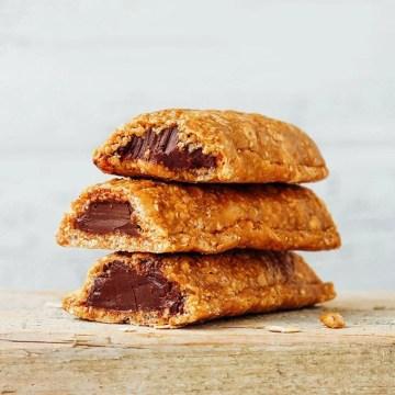 Nutella Filled Soft Granola Bars