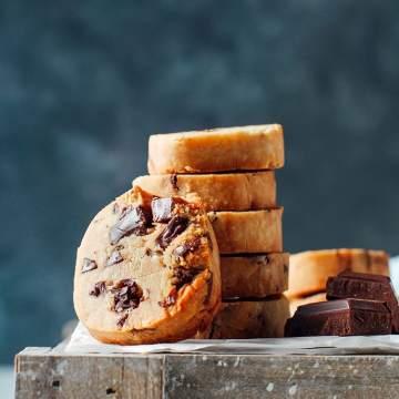 Slice & Bake Chocolate Chunk Cookies
