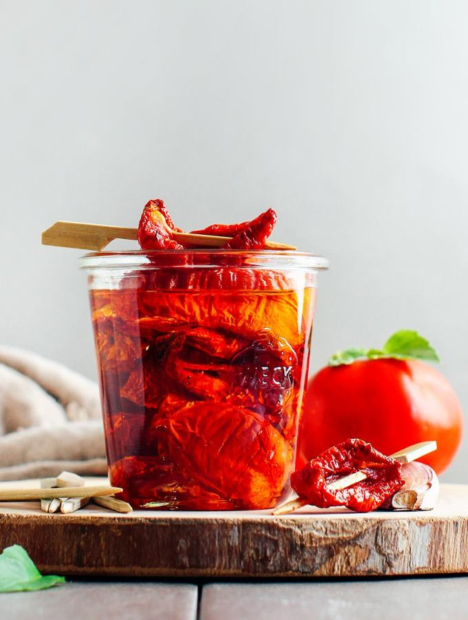 Easy Dried Tomatoes
