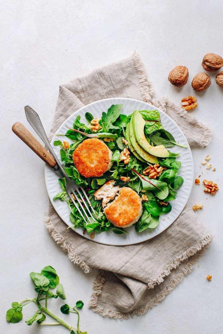 Vegan Chèvre Chaud Salad