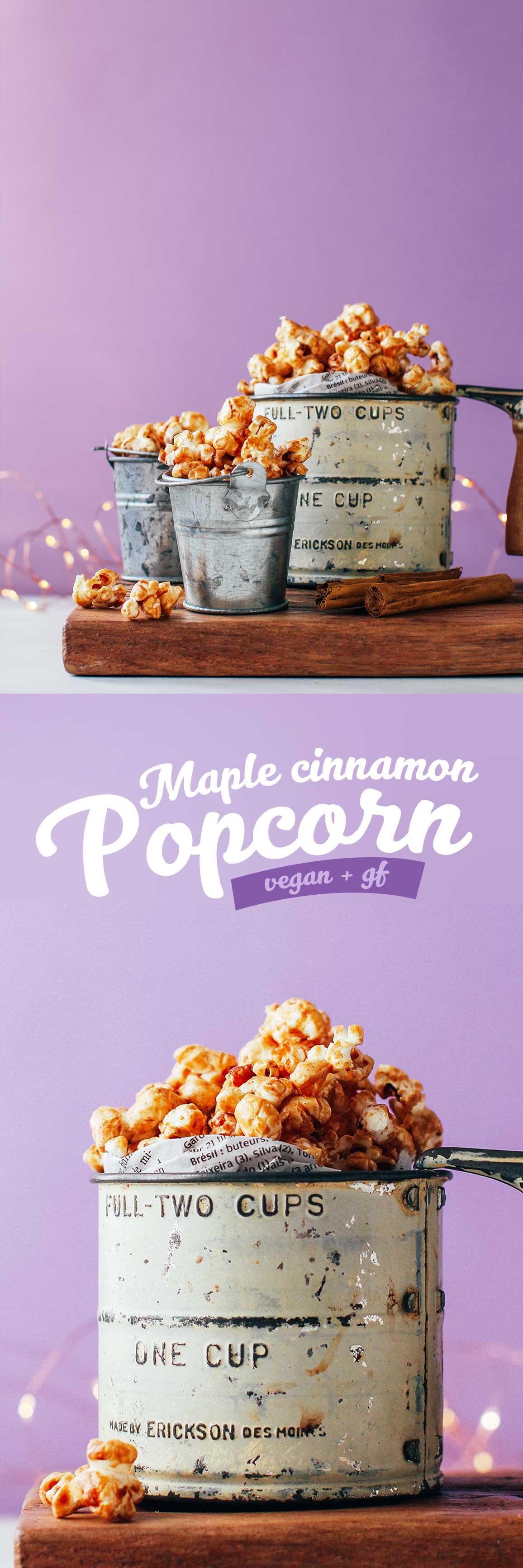 Maple Cinnamon Popcorn