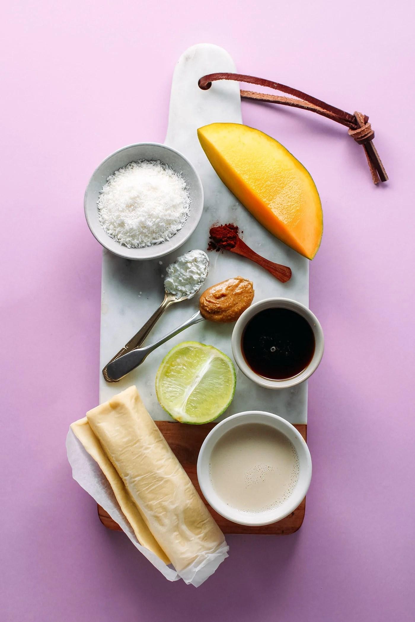 Mango & Praline Vegan Millefeuille