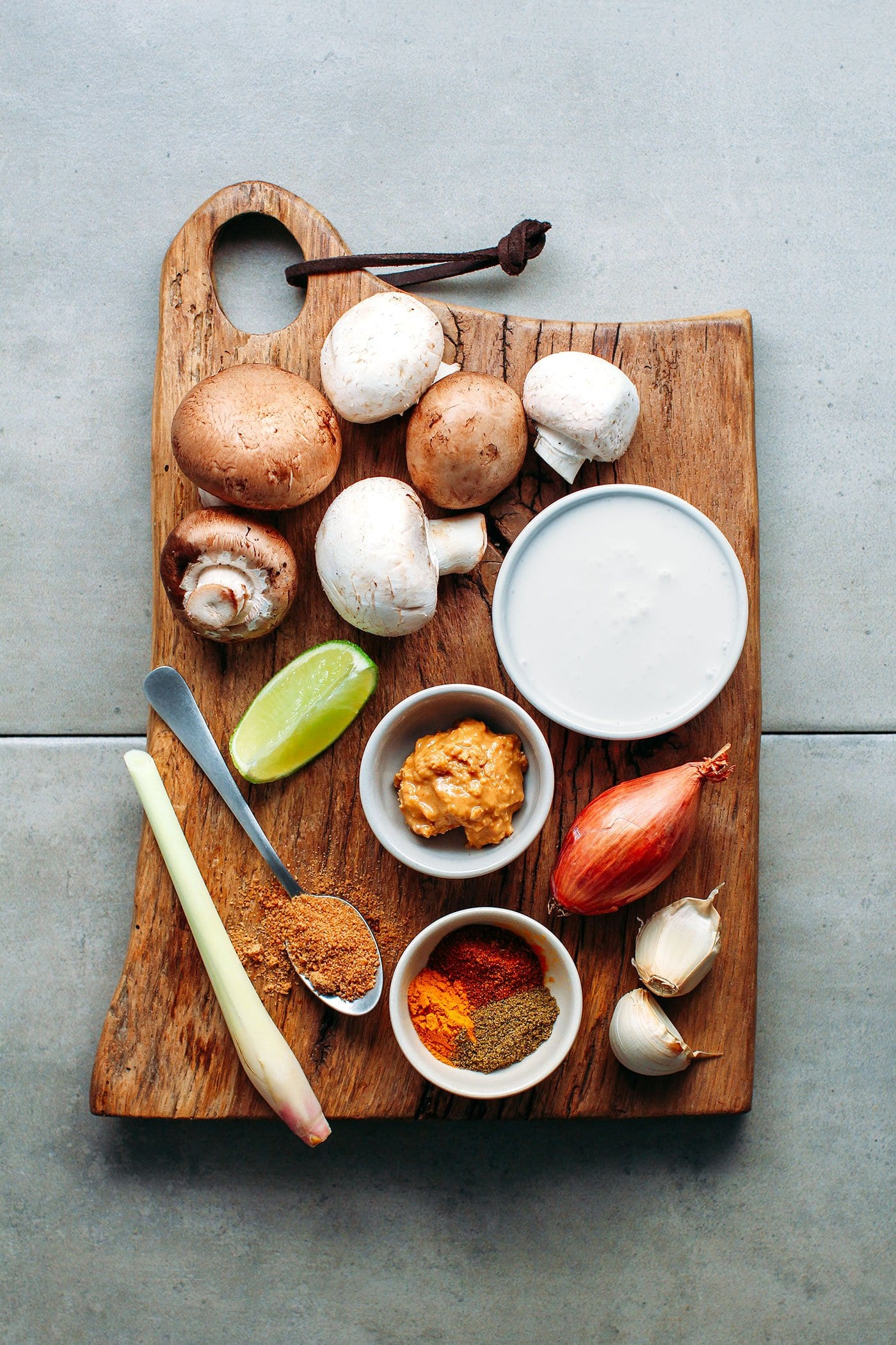 Saucy Satay Mushroom Tacos