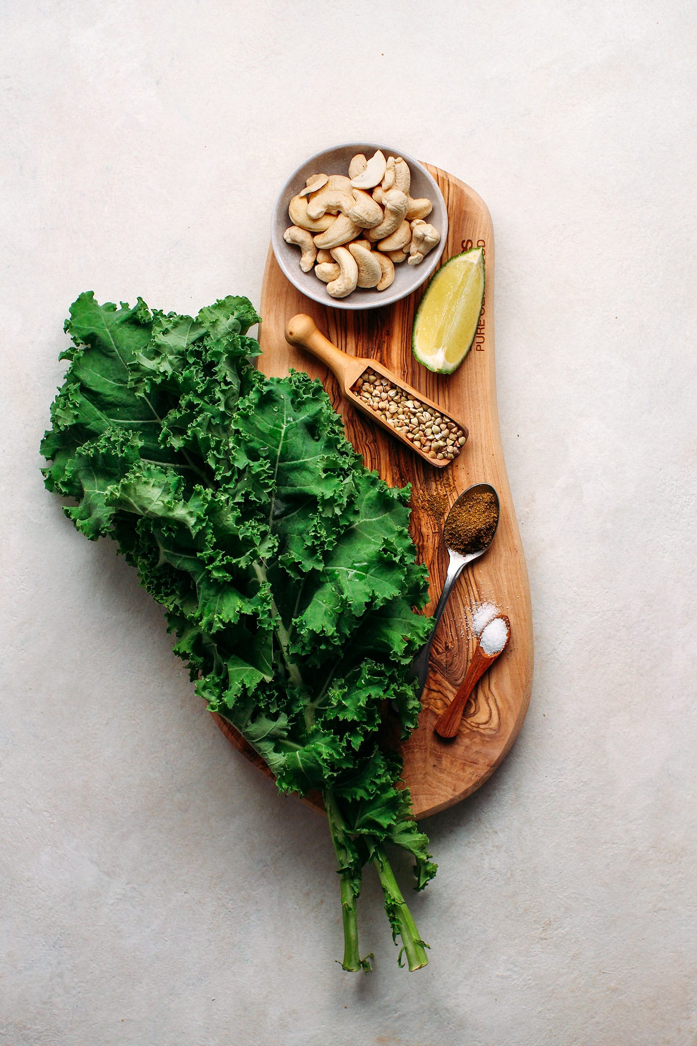Cumin & Lime Buckwheat Kale Chips
