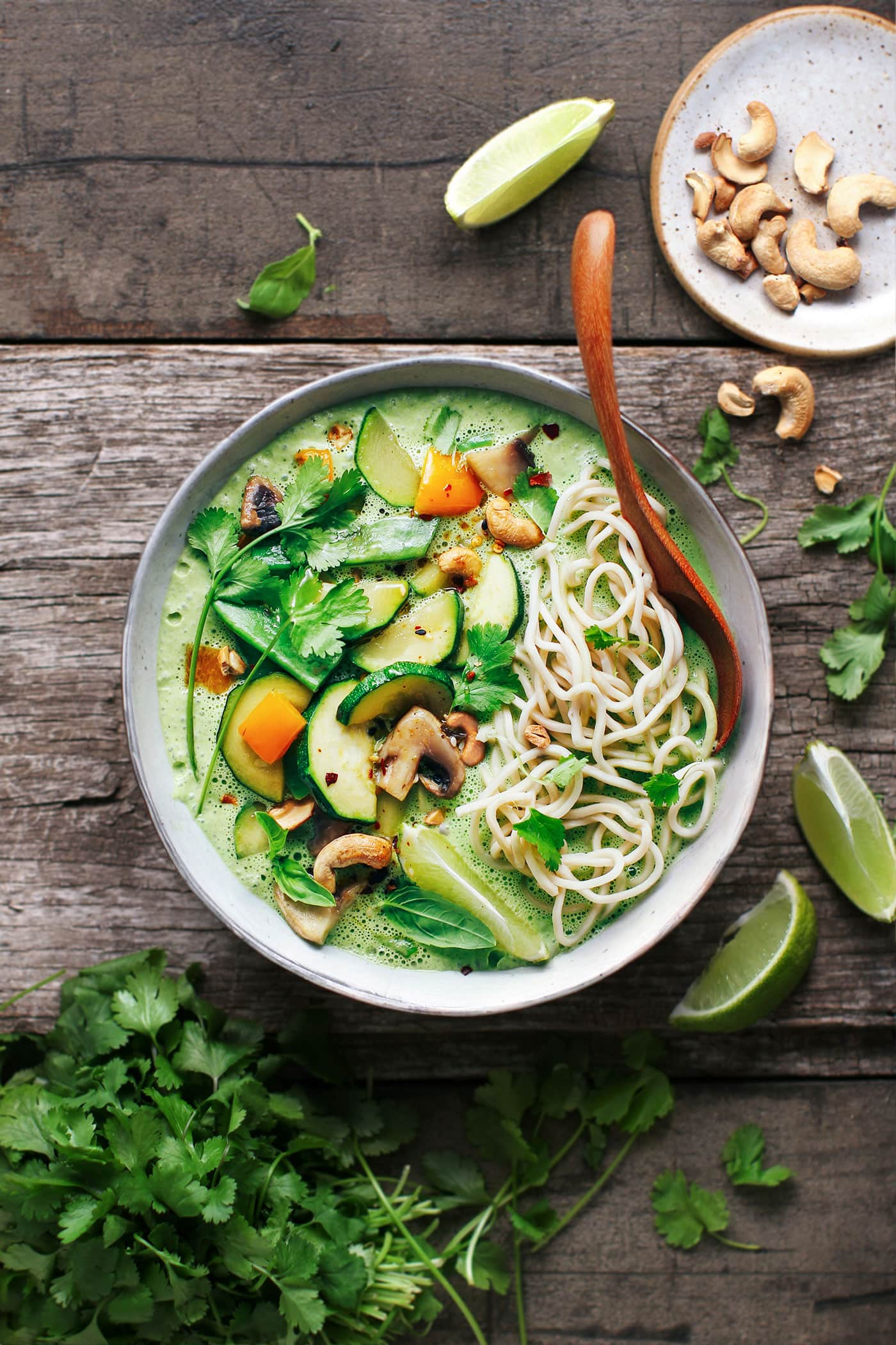 Easy Vegan Thai Green Curry