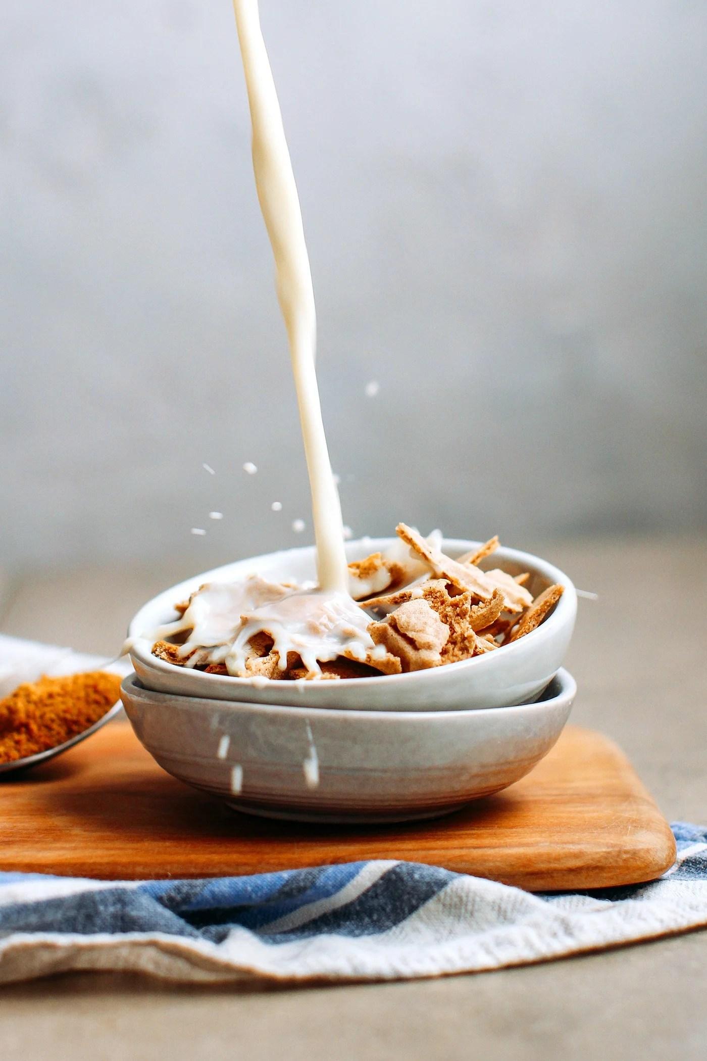 Homemade Buckwheat Flakes