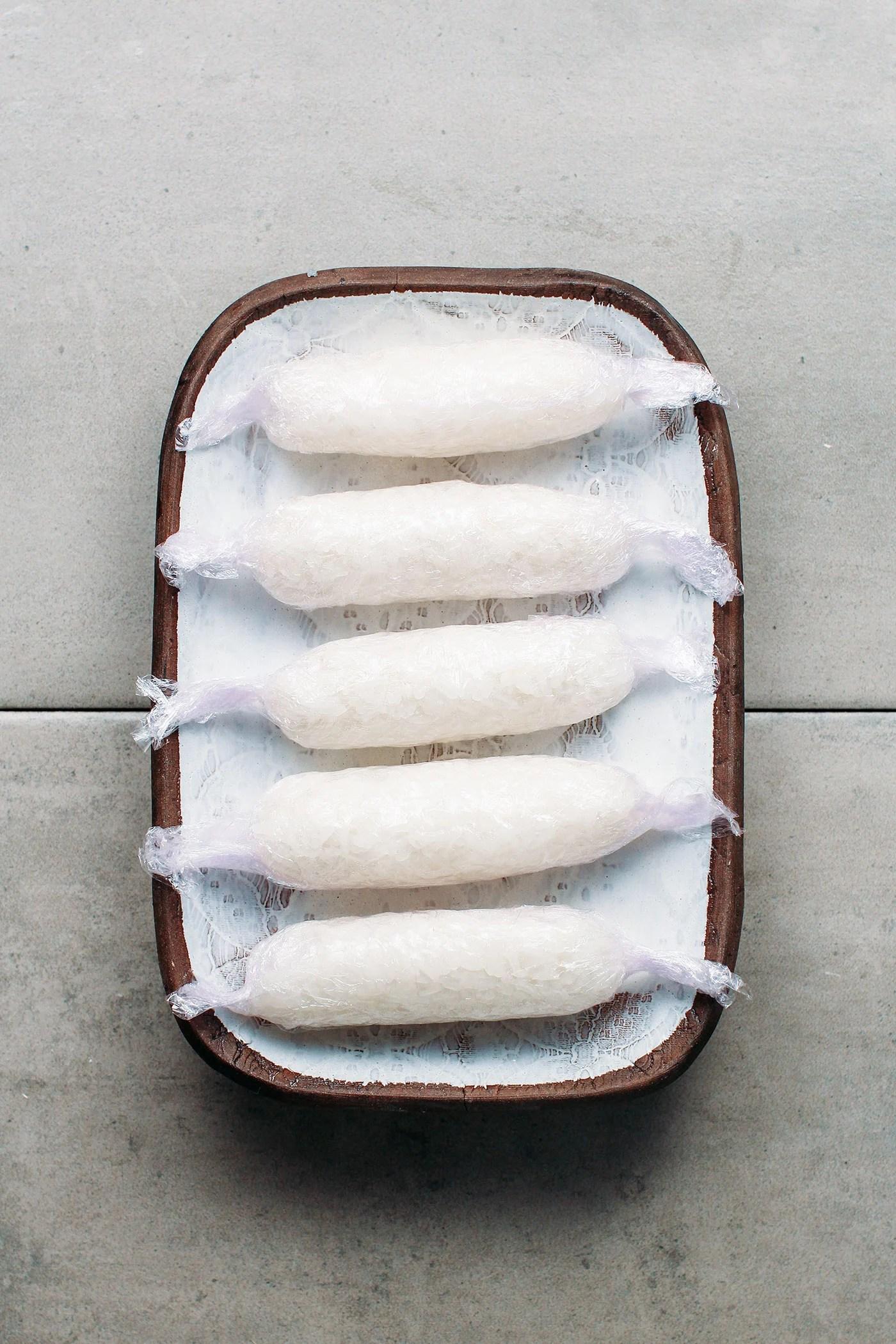 Teriyaki Sticky Rice Kebabs