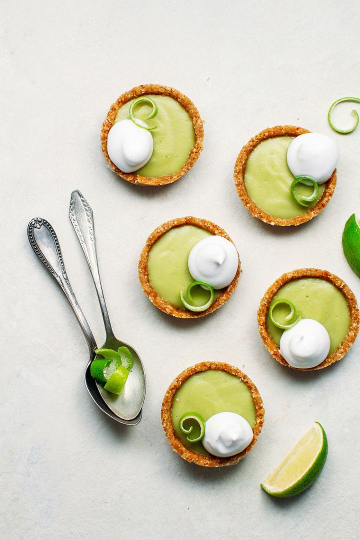 No-Bake Mini Key Lime Pies