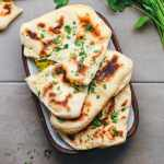 Potato & Green Bean Stuffed Naan