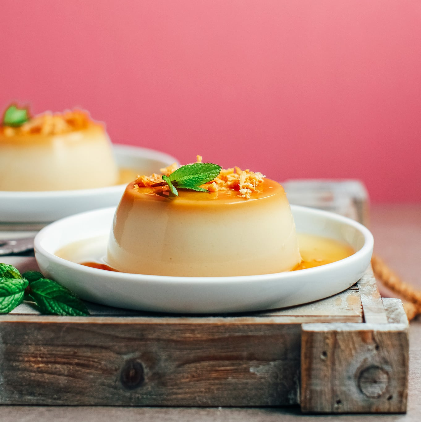 Vegan Creme Caramel - Full of Plants
