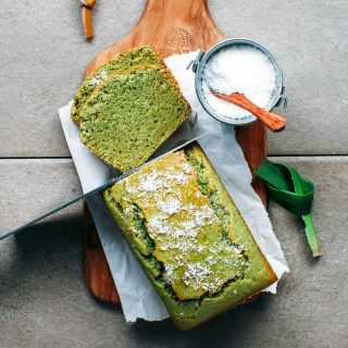 Pandan Coconut Bread (Vegan + GF)