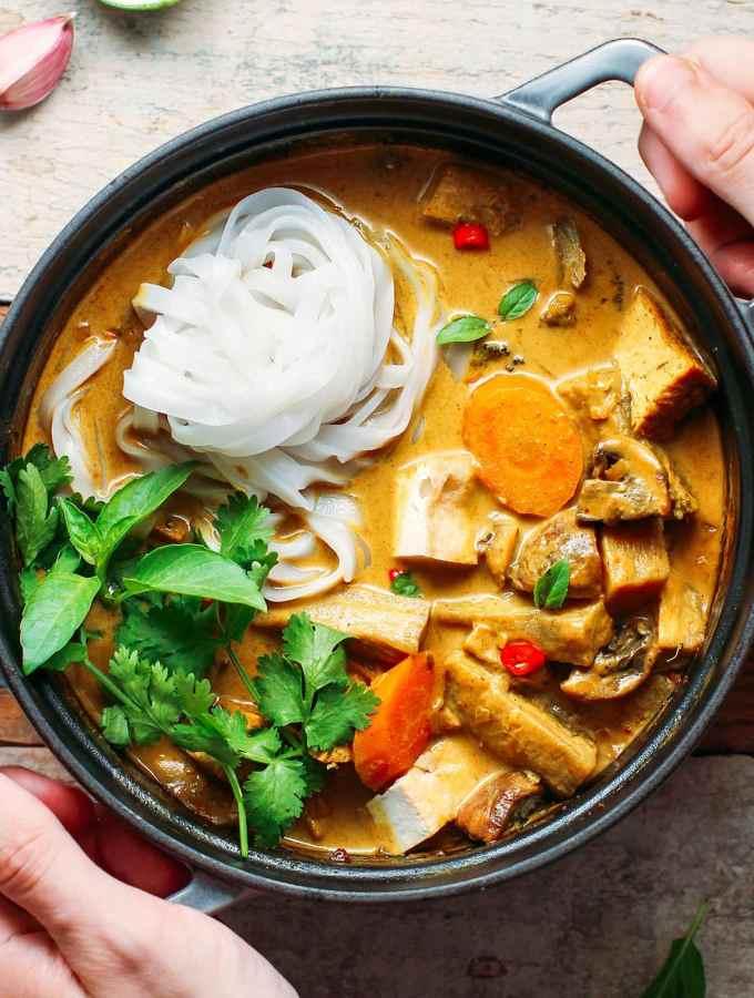 Easy Vietnamese Curry (Vegan + GF)