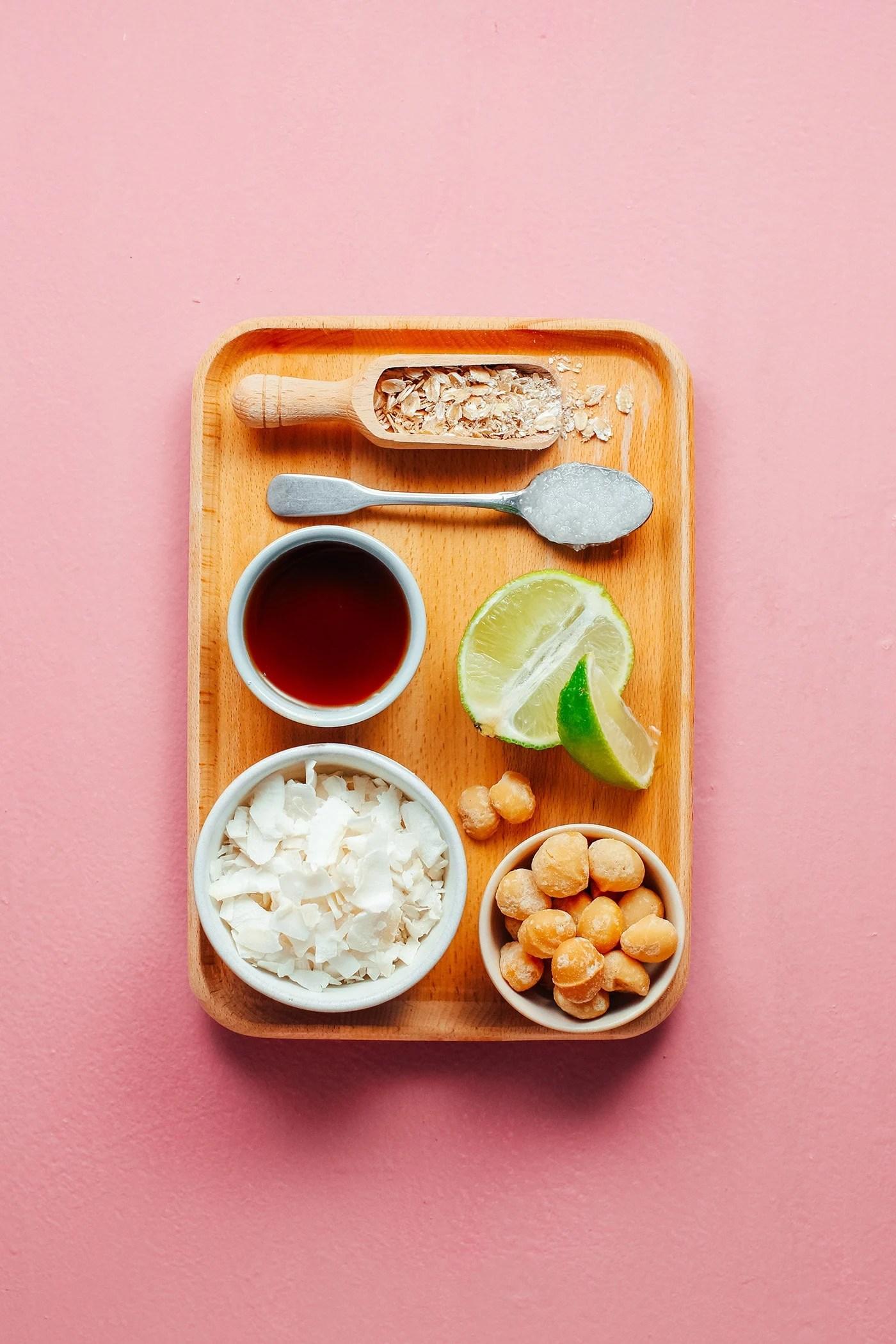 Lime, Coconut & Macadamia Granola