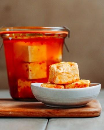 How to Make Tofu Cheese (Chao)