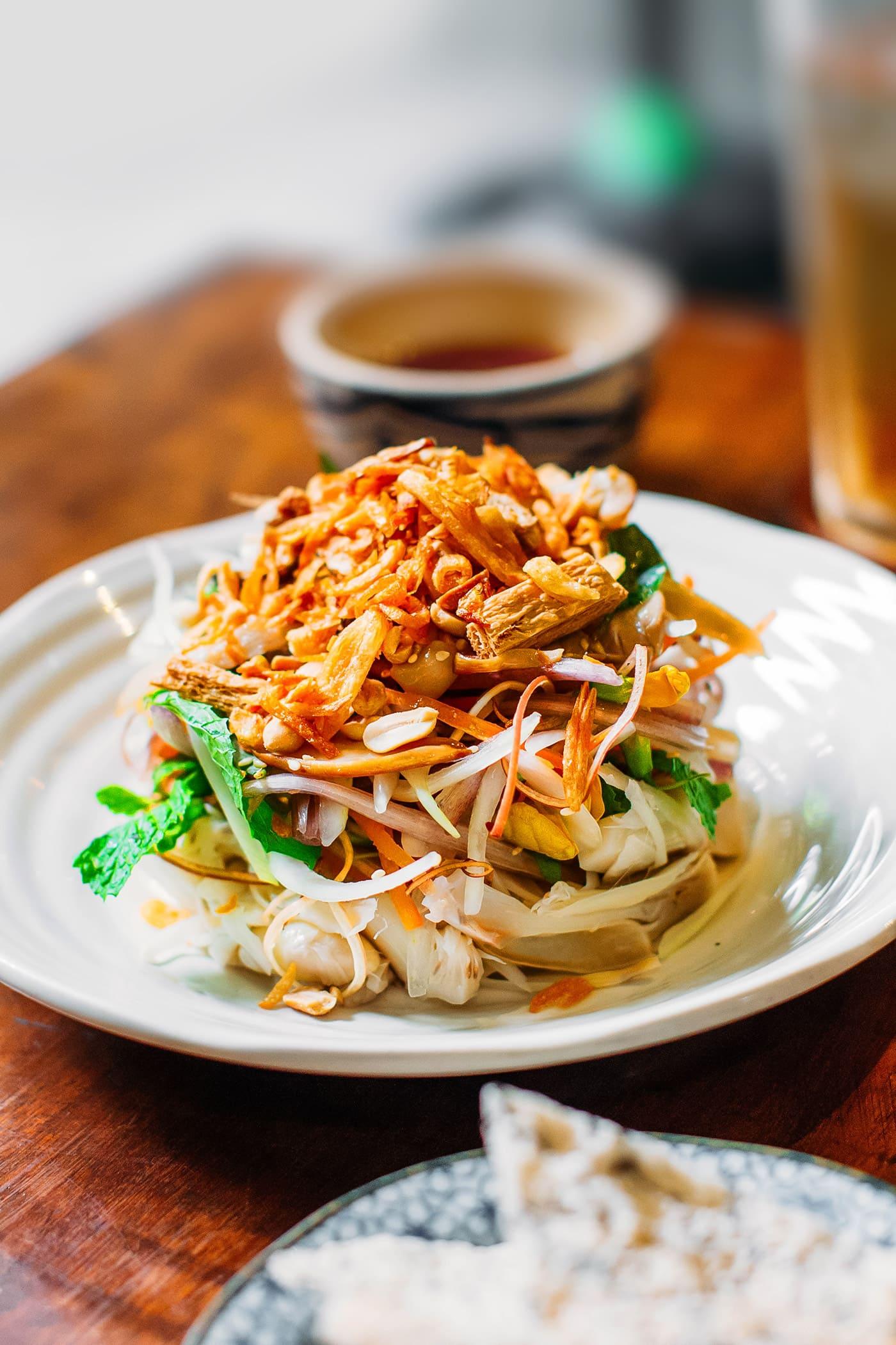 A Guide to Eating Vegan in Viet Nam - Gỏi Mít
