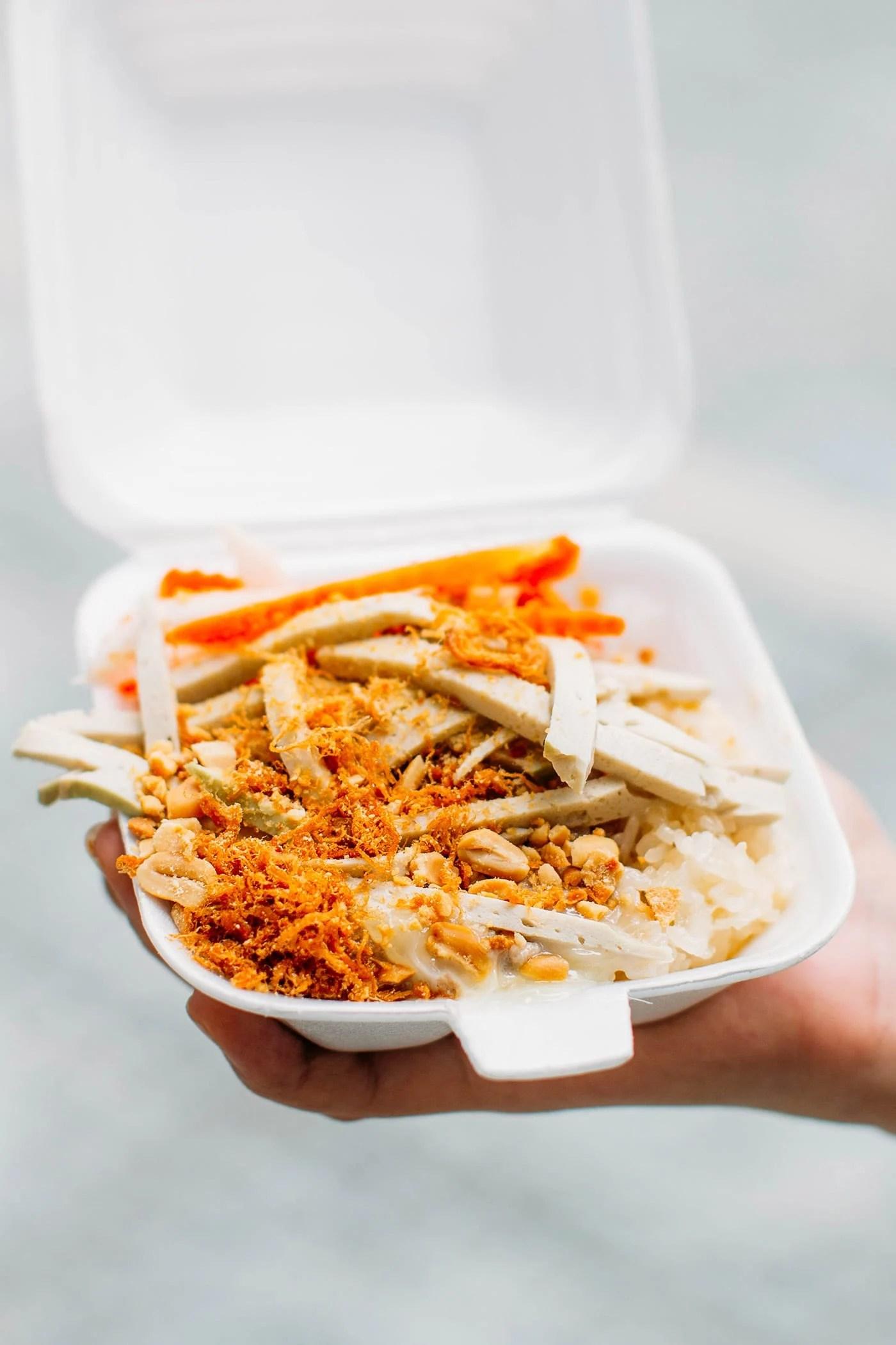 A Guide to Eating Vegan in Viet Nam - Xoi Man