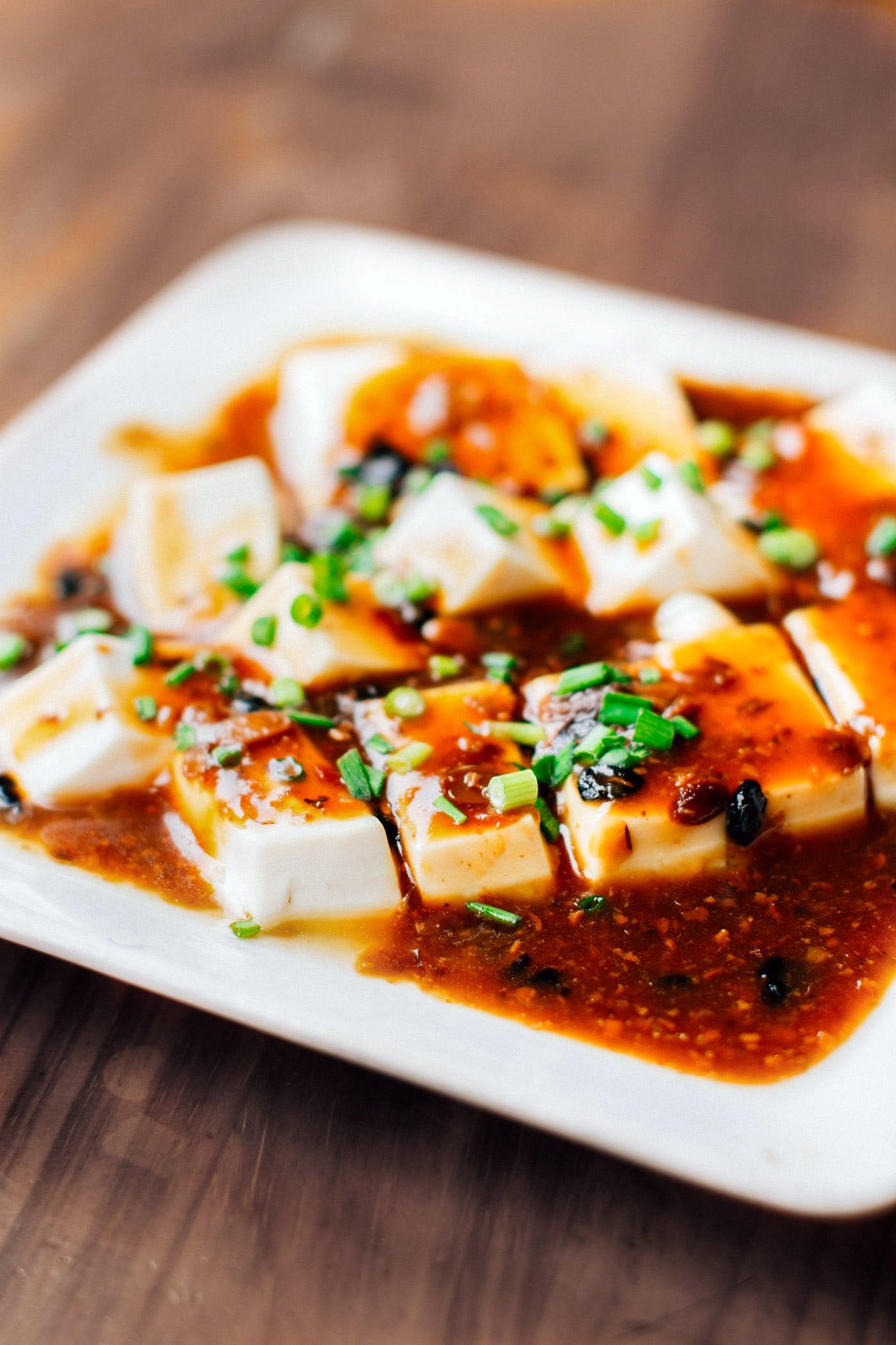 A Guide to Eating Vegan in Viet Nam - Đậu Hũ Kho Tương Hột
