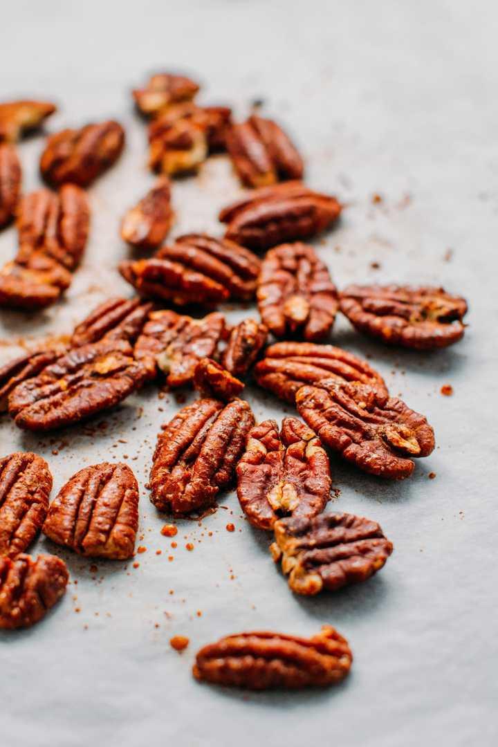 Spiced Pecan Hot Chocolate