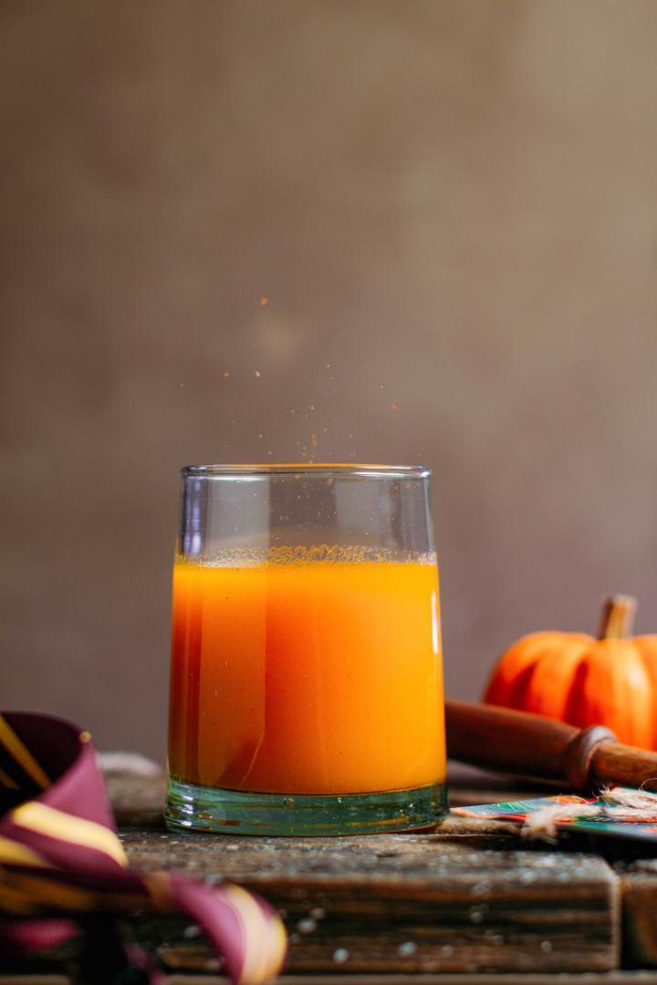 Sparkling Ginger & Pumpkin Juice