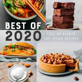 Best of 2020 - Top Vegan Recipes