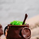 Vegan Cauldron Cakes