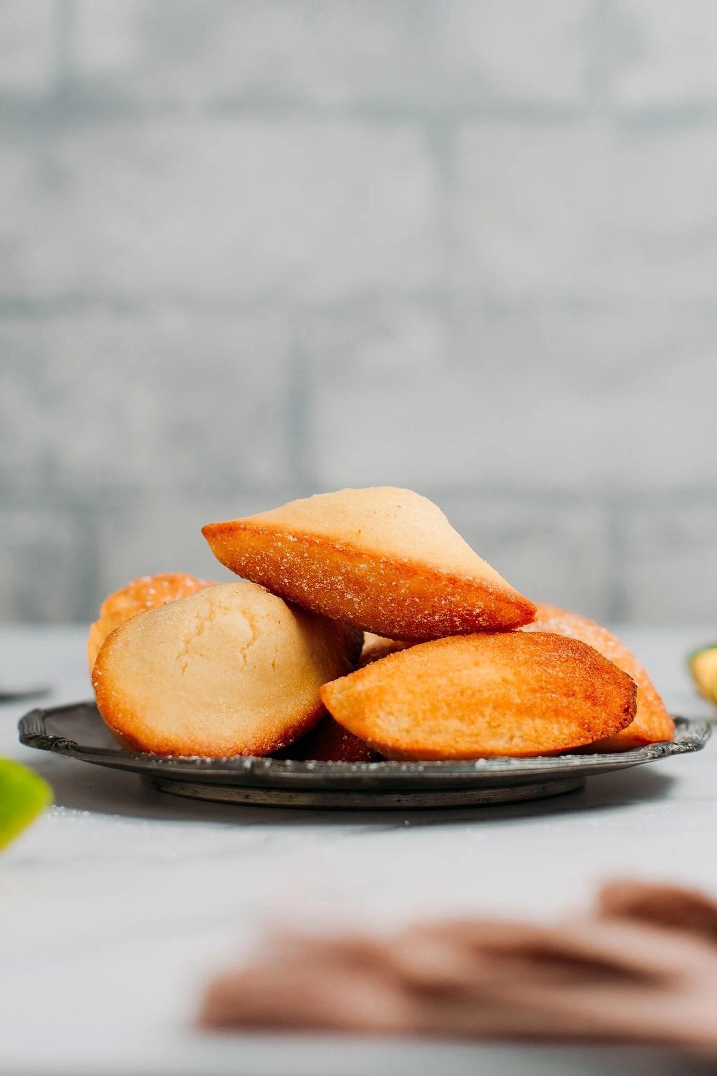Vegan Gluten-Free Madeleines