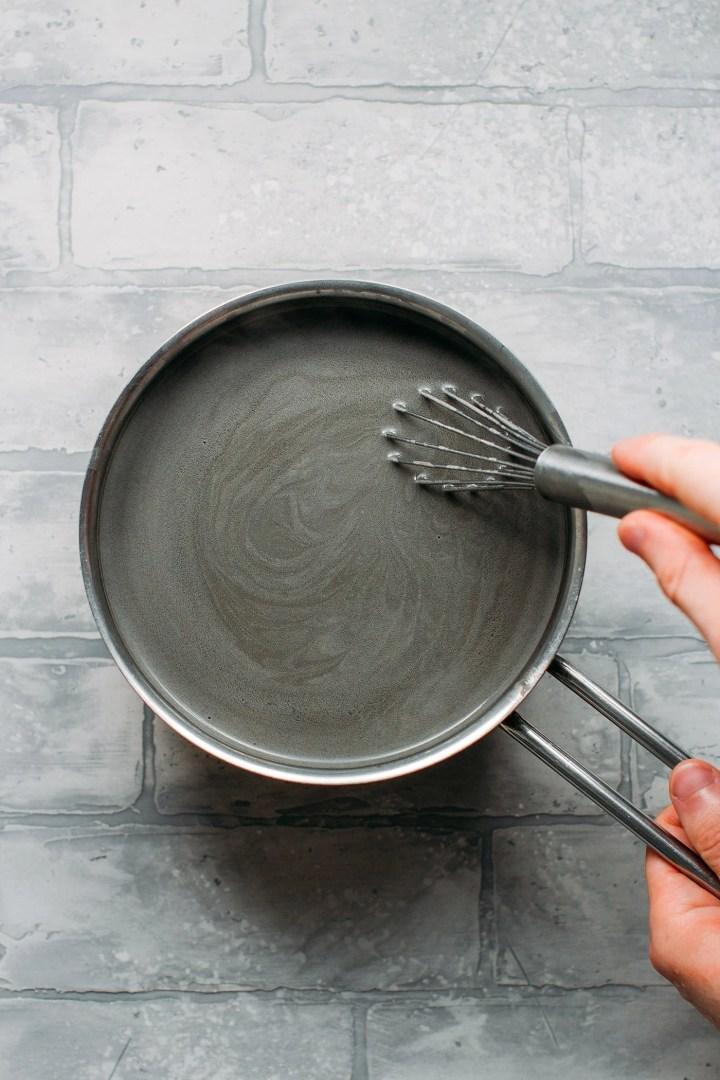 Black Sesame Cashew Milk