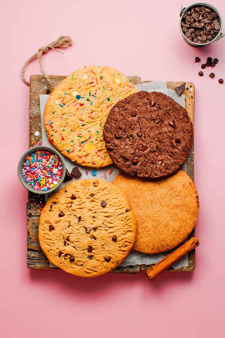 The Complete Cookie Copycat (5 Flavors!)