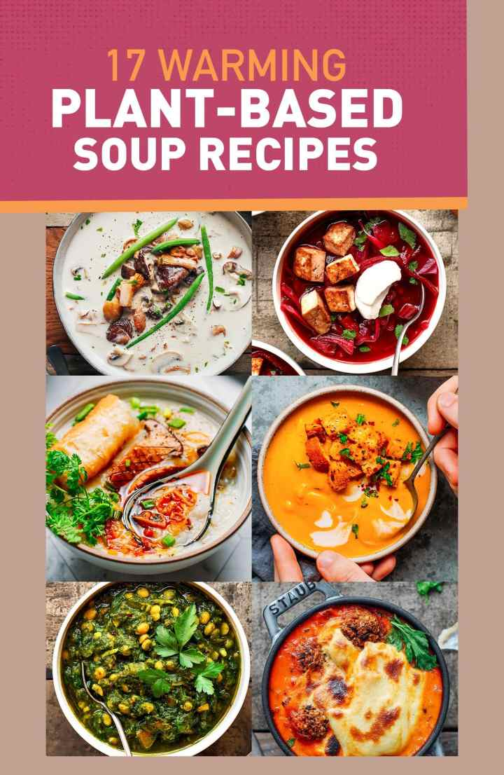 17 Warming Plant-Based Soup Recipes