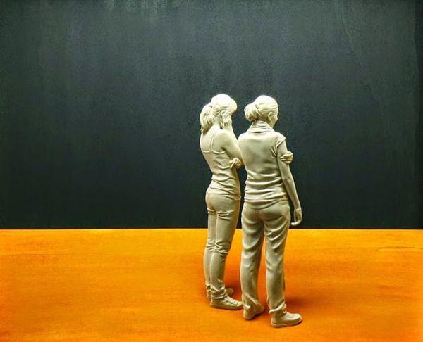 Sculptures Of People Peter Demetz
