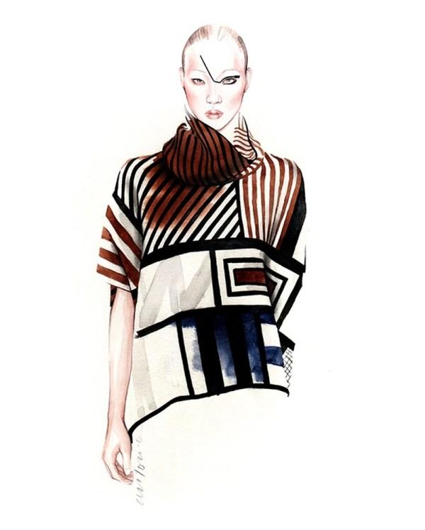 Fashion Illustrations Antonio Soares