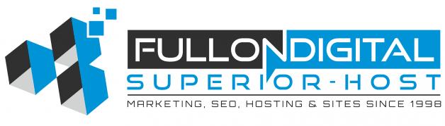Full on digital logo