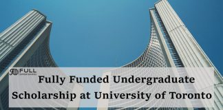 Fully Funded Undergraduate Scholarships