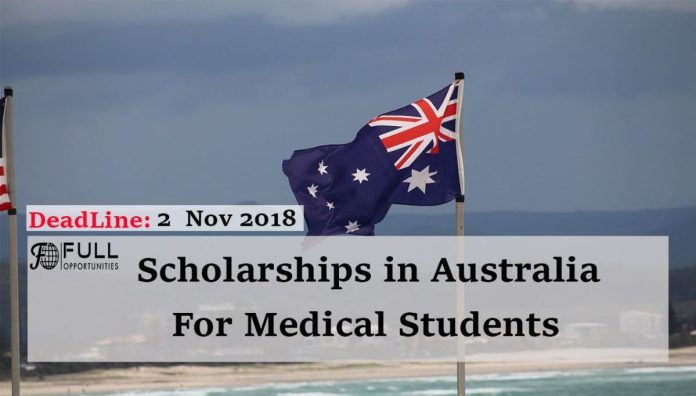 Medical Scholarships: Pro Vice Chancellor's Scholarship in Australia