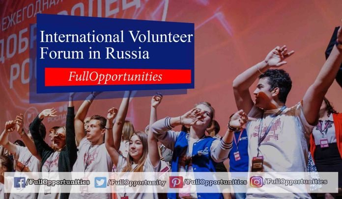 International Volunteer Forum in Russia 2019 (Funded)