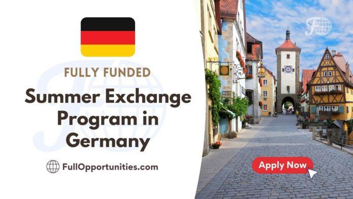 Summer Exchange Program in Germany