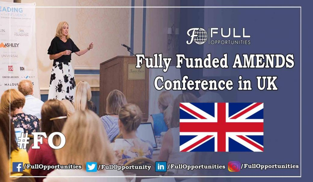 AMENDS Conference in UK 2019 - Fully Funded Conference