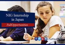 NIG Summer Internship in Japan: How to Get Full Internship 2020