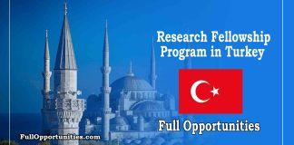 Research Fellowship Program in Turkey