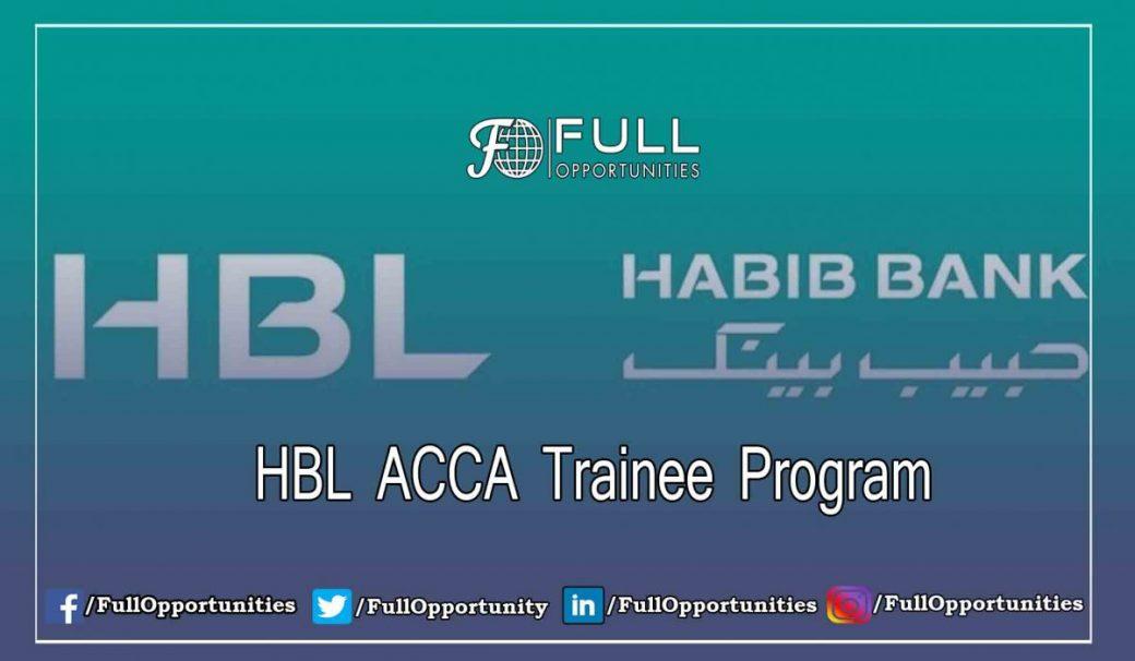 HBL ACCA Trainee Program 2019 | Full Opportunities