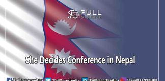 She Decides Conference in Nepal