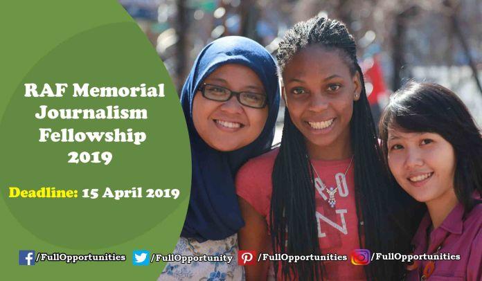 Reham Al-Farra Memorial Journalism Fellowship