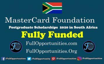 MasterCard Foundation Scholarship 2020 program