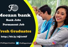 Meezan Bank Jobs 2019 - Permanent Job