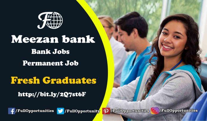 Meezan Bank Jobs 2019 - Permanent Job