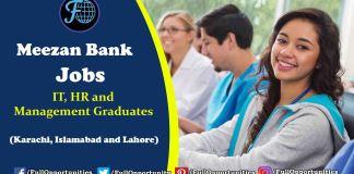 Meezan Bank Jobs 2019