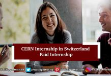 CERN Internship in Switzerland