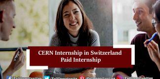 CERN Internship in Switzerland
